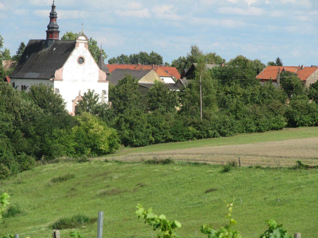 Dreibächeweg Laurenziberg Wallfahrtskirche