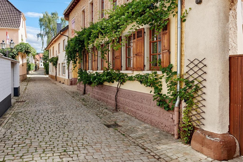 Straße in Flonheim
