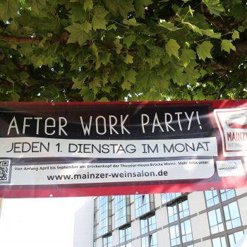 Mainzer Weinsalon. After Work. Foto: Karl Weller