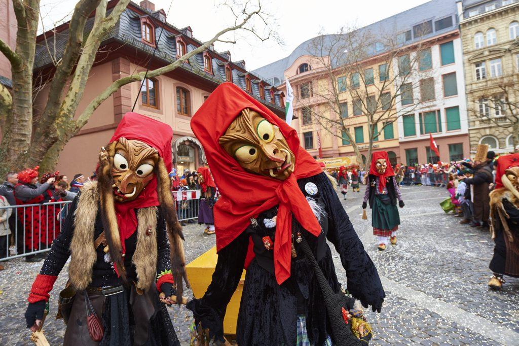 Allemanische Hexen auf dem Rosenmontag