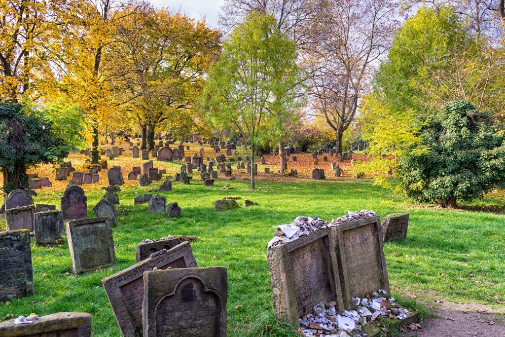 Jüdischer Friedhof in Worms am RheinTerrassenWeg